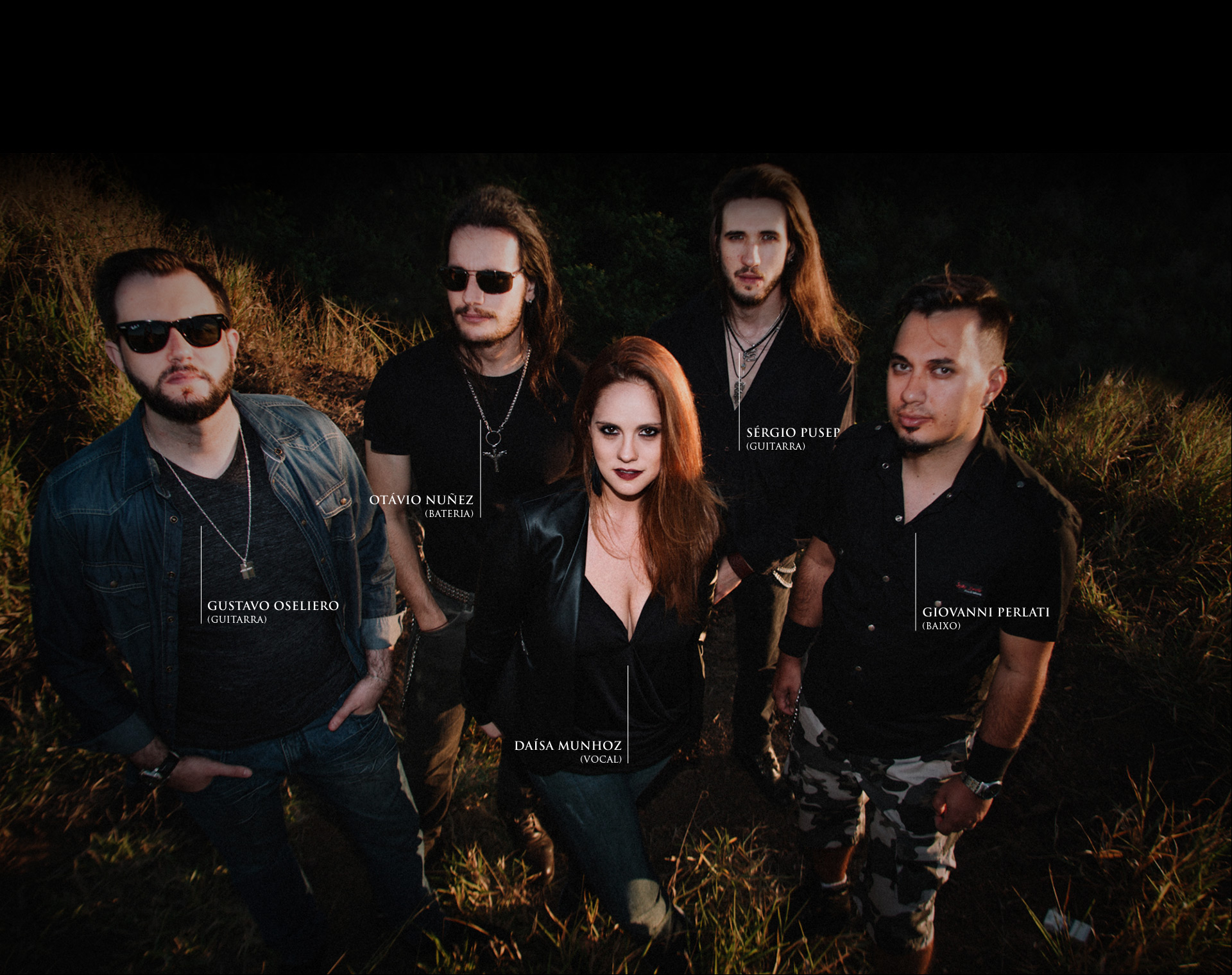 Integrantes banda Vandroya